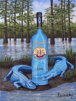 magellan art aligator