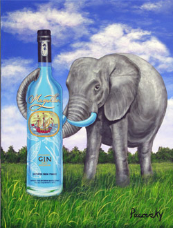 magellan art elephant