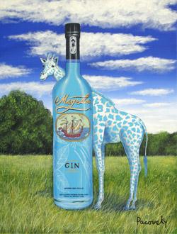 magellan art giraffe